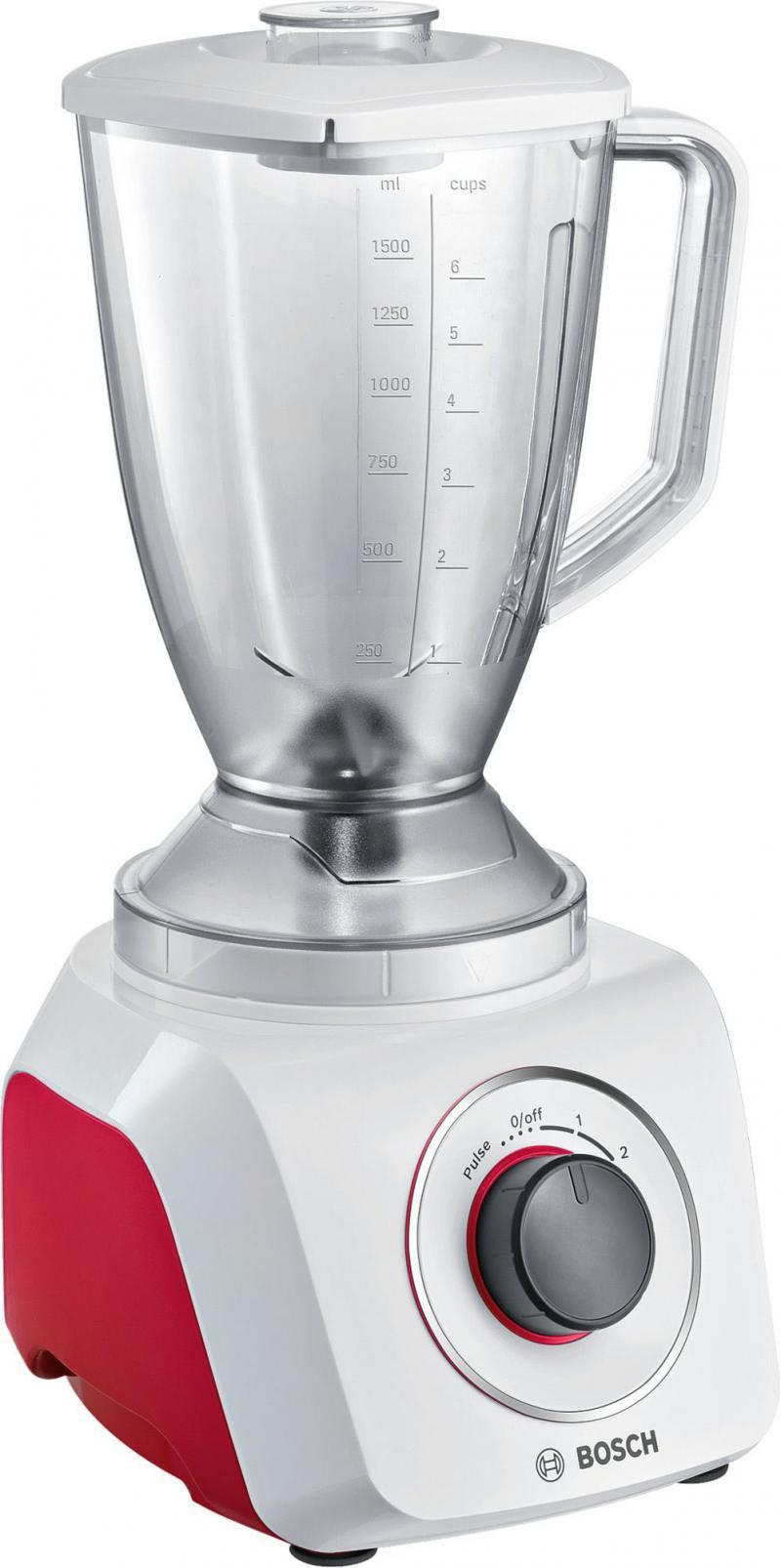 Блендер Bosch MMB21P0R блендер стационарный bosch mmb21p0r 500вт белый красный серый