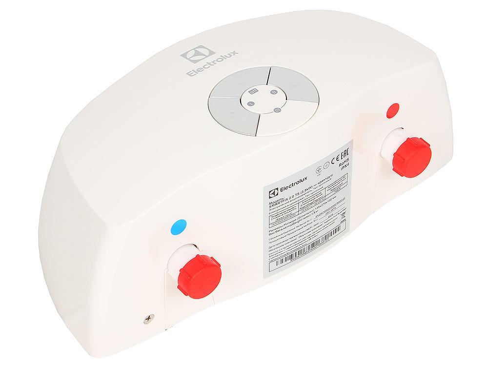 Водонагреватель Electrolux SMARTFIX 2.0 TS (3,5 kW) - кран+душ, проточный electrolux smartfix 3 5 ts