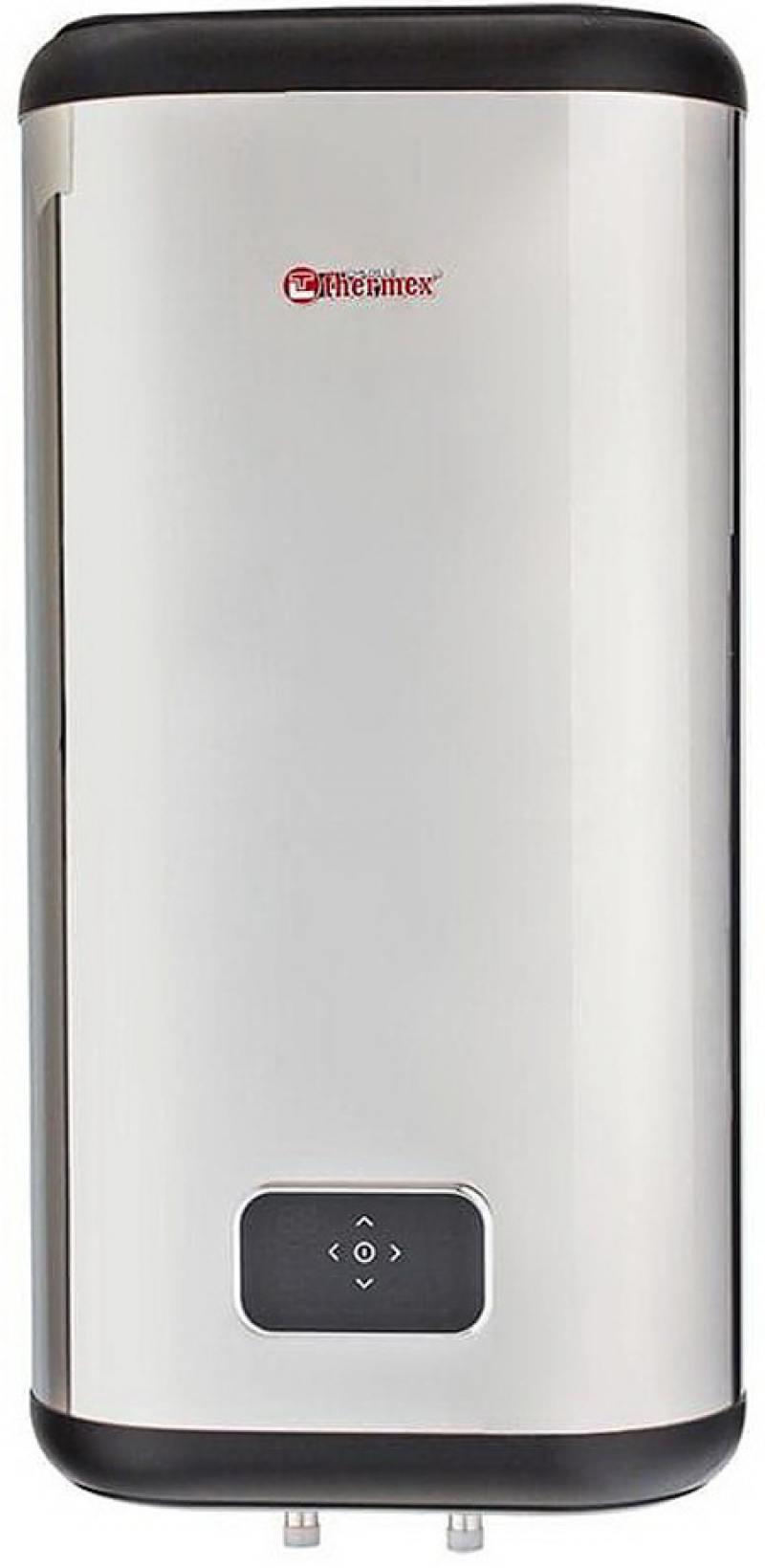 Водонагреватель накопительный Thermex Flat Diamond Touch ID 100 V 100л 2кВт серебристый накопительный водонагреватель thermex flat smart energy fss 100 v