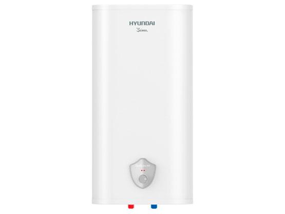 Водонагреватель накопительный HYUNDAI H-SWS7-80V-UI412 SAIMAA, 80л, бак нерж., 2 кВт, плоский, технология Thermos-PE, белый цена и фото