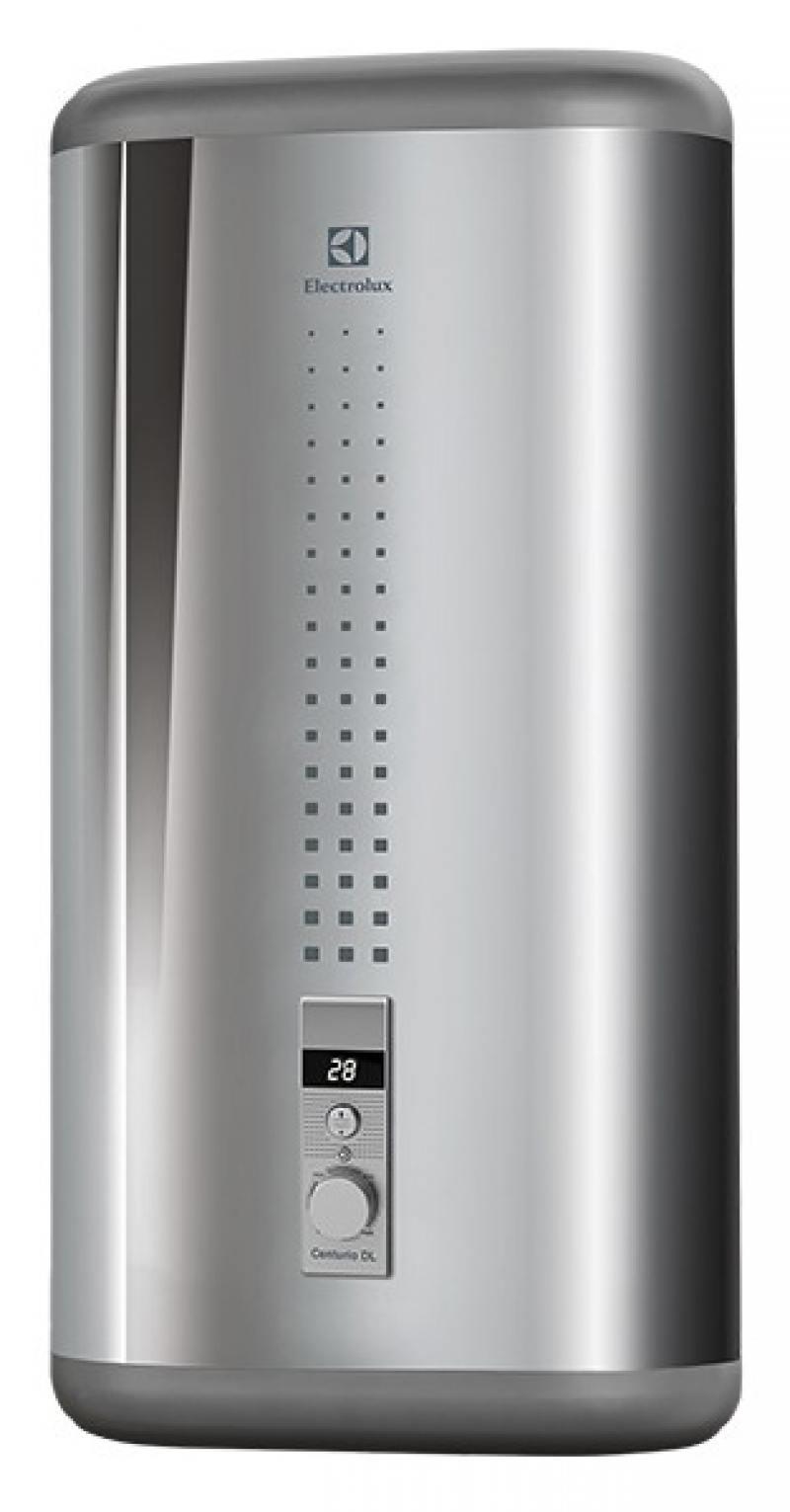 Водонагреватель накопительный Electrolux EWH 50 Centurio DL Silver 50л 2кВт плоский серый механическое упр. водонагреватель electrolux ewh 80 centurio dl
