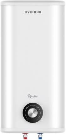 Водонагреватель накопительный HYUNDAI H-SWS11-100V-UI708 Riverside, 100 л., тэн нерж., бак нерж.-1,2 мм., 2 кВт., плоский, белый
