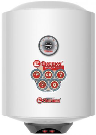 Водонагреватель накопительный Thermex Praktik 30 V Slim 30л 2.5кВт белый водонагреватель накоп thermex is 30л