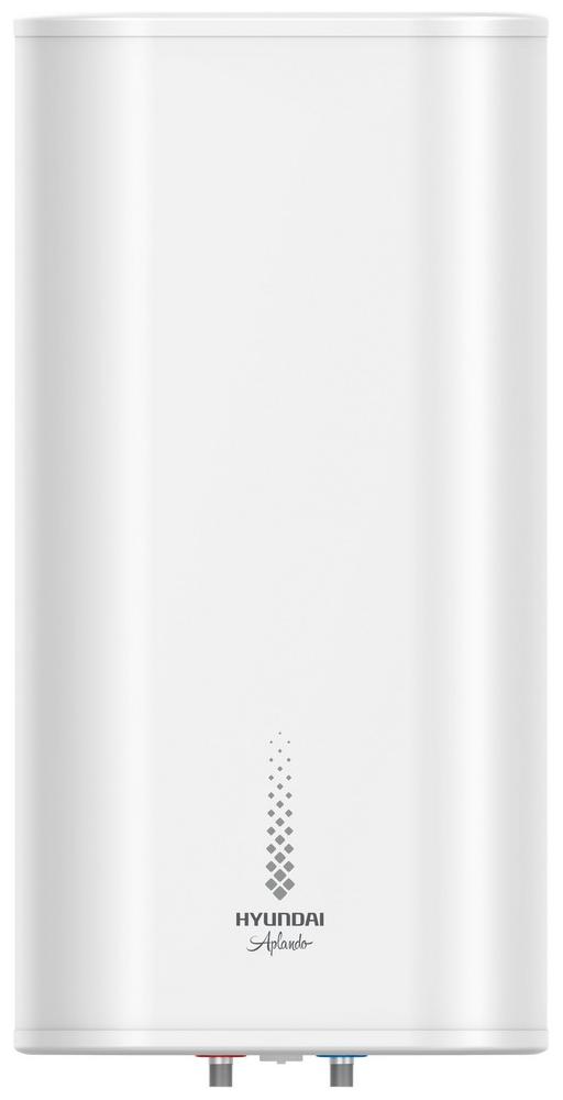 Водонагреватель накопительный HYUNDAI H-SWS14-50V-UI555 Aplando, 50 л., тэн медь, бак нерж.-1,2 мм., 1.5 кВт., пластиковый корпус, белый все цены