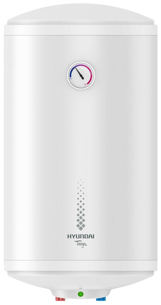 Водонагреватель накопительный HYUNDAI H-SWE7-30V-UI711 Taegu, 30л, 1500Вт, эмаль, термометр, вертикальный, белый