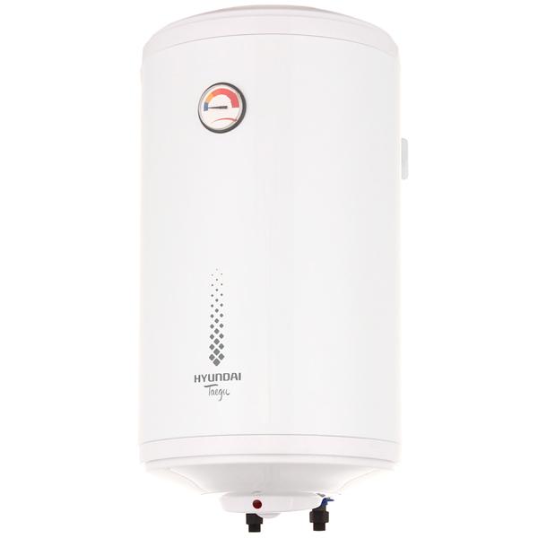 Водонагреватель накопительный HYUNDAI H-SWE7-50V-UI712 Taegu, 50л, 1500Вт, эмаль, термометр, вертикальный, белый