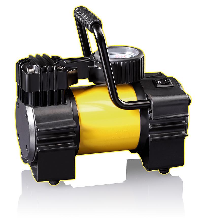Автомобильный компрессор КАЧОК K90 LED компрессор для шин 12v 14