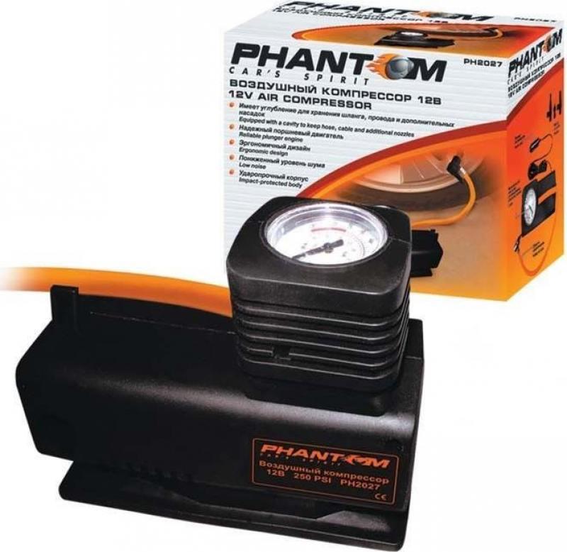 Автомобильный компрессор Phantom РН2027 автомобильный компрессор phantom рн2034