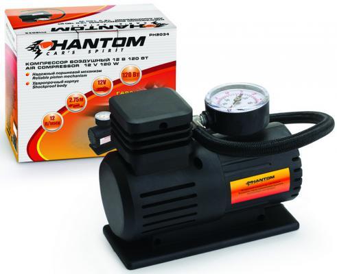 Автомобильный компрессор Phantom РН2034 phantom page light