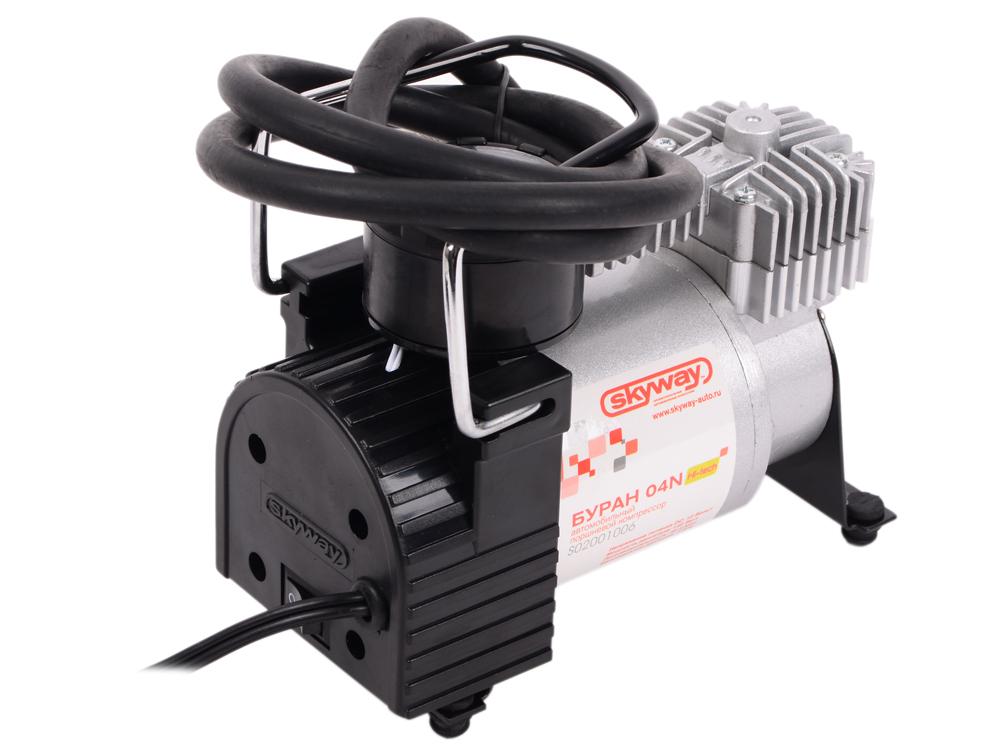 Автомобильный компрессор SKYWAY БУРАН-04N автомобильный компрессор airline ca 012 08o smart o g автомобильный