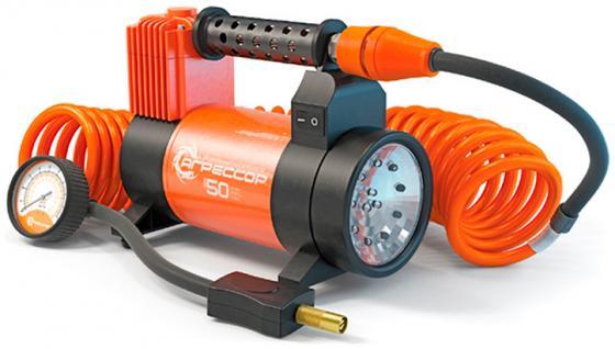 Автомобильный компрессор Агрессор AGR-50L автомобильный компрессор airline ca 012 08o smart o g автомобильный