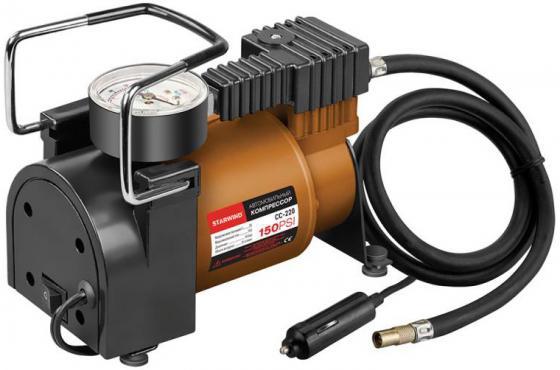 Автомобильный компрессор Starwind CC-220 компрессор для шин 12v 14