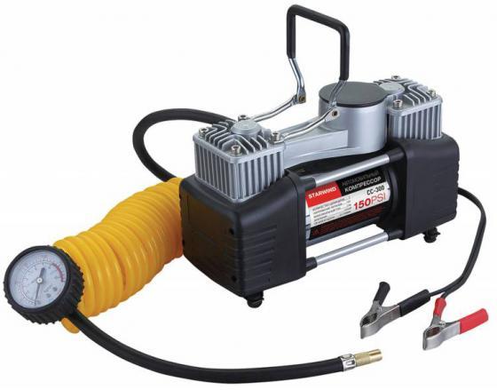 Автомобильный компрессор Starwind CC-300 автомобильный компрессор starwind cc 200