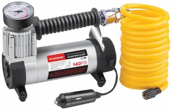 Автомобильный компрессор Starwind CC-280 автомобильный компрессор skybear 211040