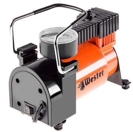 Компрессор автомобильный WESTER TC-3035 160Вт 35л/мин до 30 мин автомобильный компрессор zipower pm 6506 35л мин