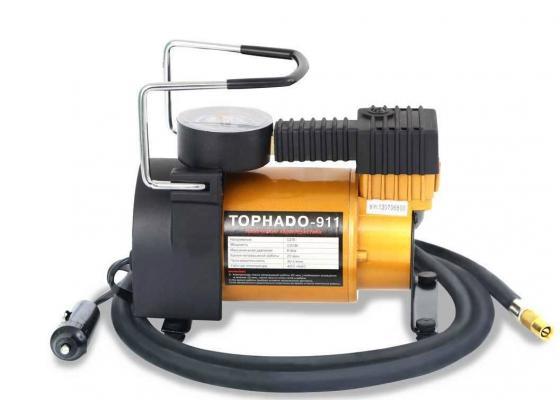 Компрессор автомобильный TORNADO-911 R 12В 14А 30л/мин 6Атм автомобильный компрессор starwind cc 240