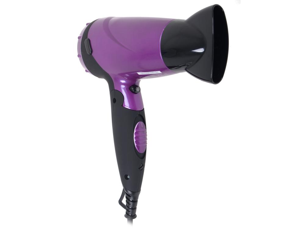 Фен BBK BHD1603i черно-фиолетовый основа под макияж new brand mc 3pcs teint spf 15 30 6 nc15 nc20 nc25 nc30 nc35 nc40