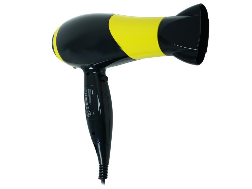 Фен BBK BHD3225i черно-желтый