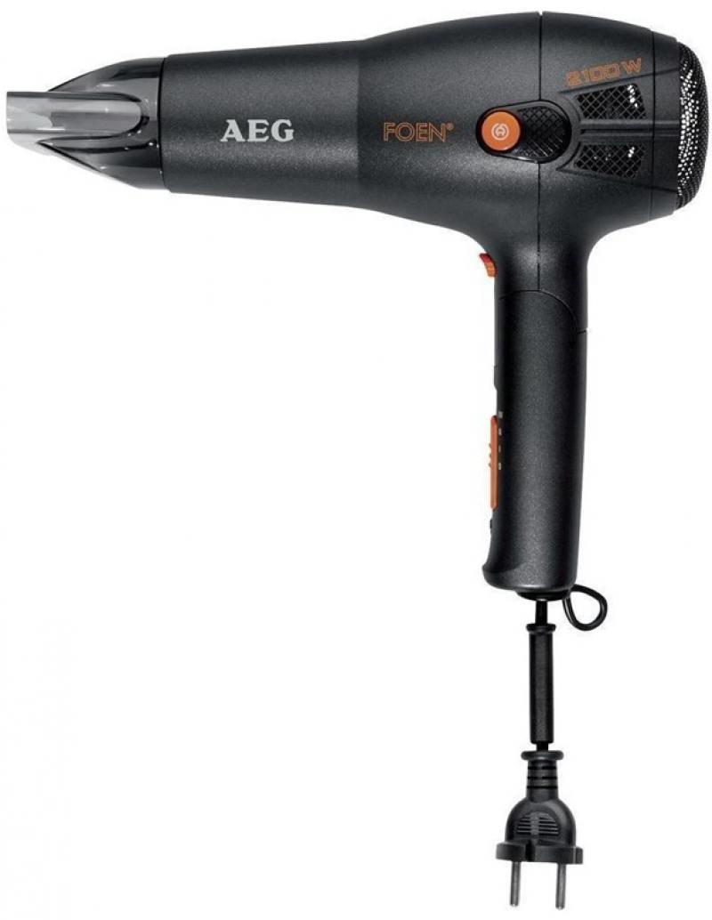 Фен AEG HT 5650 2100 чёрный aeg hg600vk