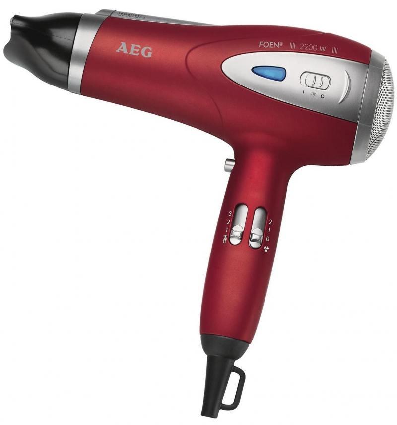 цены на Фен AEG HTD 5584 red lonic в интернет-магазинах