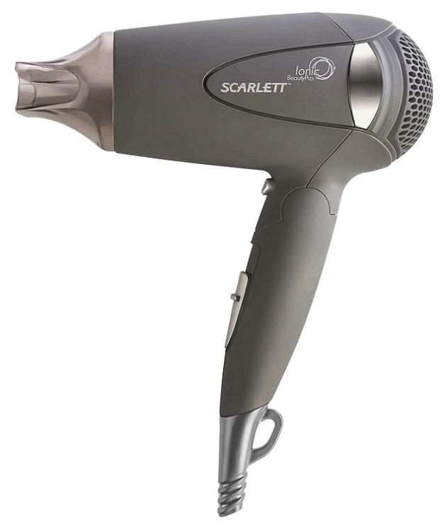 Фен Scarlett SC-074 1400Вт серый scarlett пылесос scarlett is vc82c01 1400вт серый зеленый