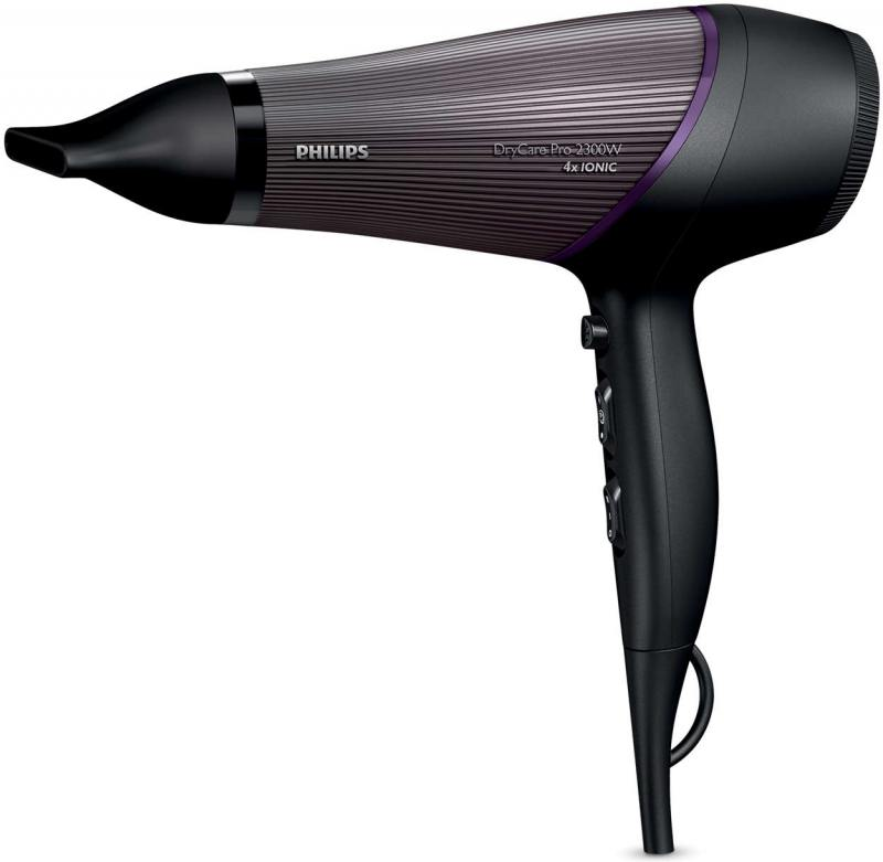 Фен Philips BHD 177/00 2300Вт черно-фиолетовый мультиварка philips hd3134 00 белый черный