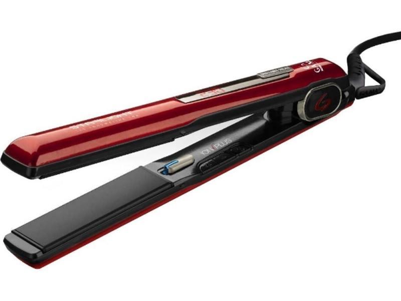 Выпрямитель волос GA.MA P21.SLIGHTDION.TOR 42 красный чёрный
