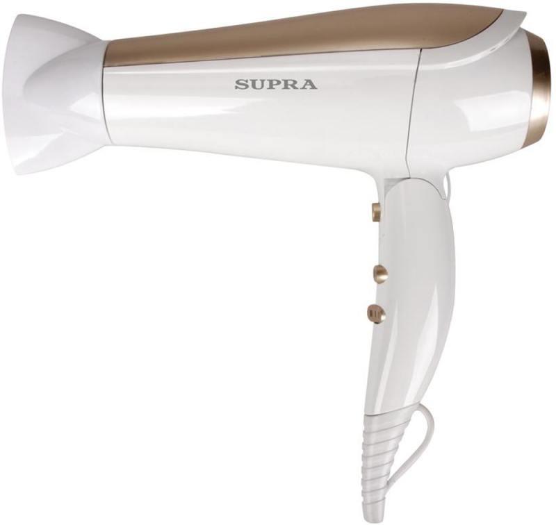 Фен Supra PHS-2009 2200Вт серебристый