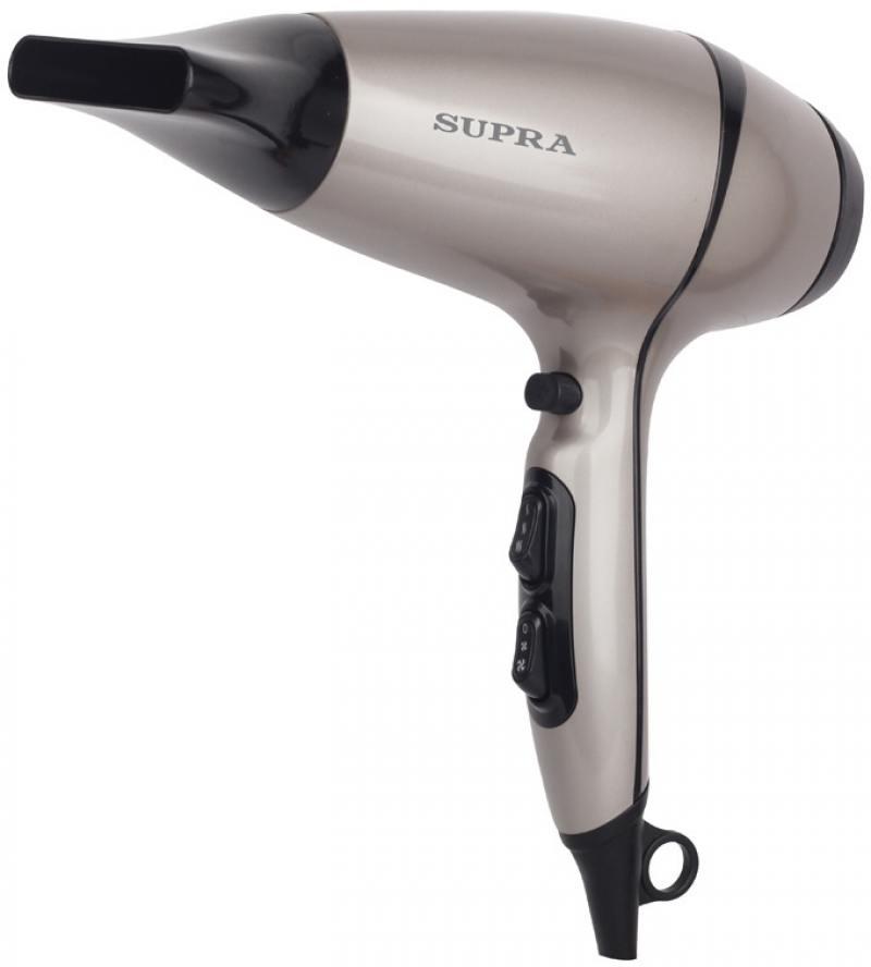 Фен Supra PHS-2007 2200 серебристый