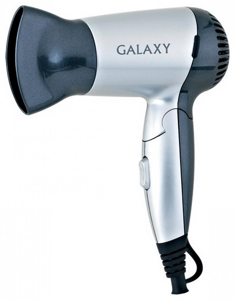 Фен GALAXY GL4303 1200 чёрный серебристый