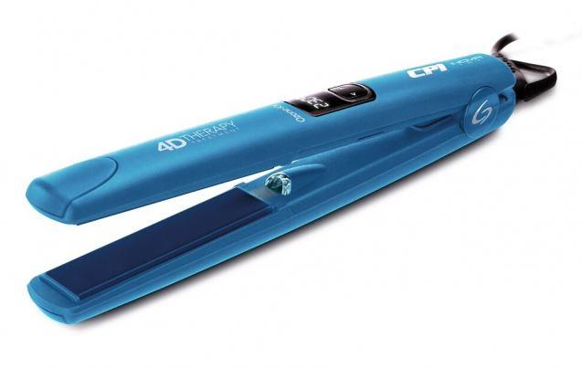 Щипцы GA.MA CP1 Nova Digital 4D Therapy Ozone, утюжок, синий [P21.CP1NOVADION.4D] фен ga ma legerro ozone ion 4d a21 leggeroion 4d