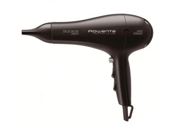 Фен Rowenta CV 8642 2200Вт черный фен bosch phd5980 2200вт коричневый и черный