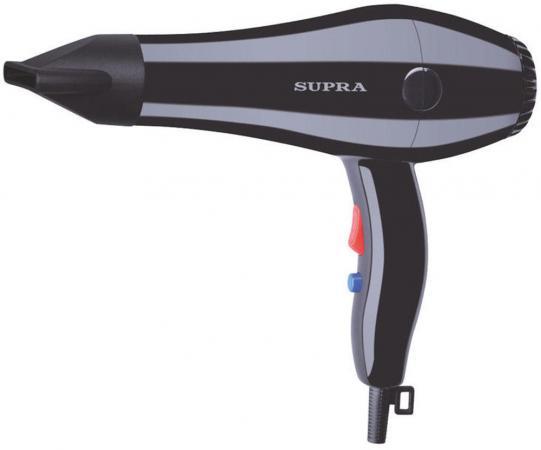 Фен Supra PHS-1401S 1400Вт чёрный телефон supra stl 111 белый