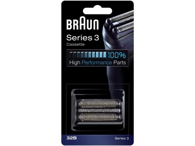 Сетка и режущий блок Braun Series 3 32B аксессуар braun сетка и режущий блок 32b