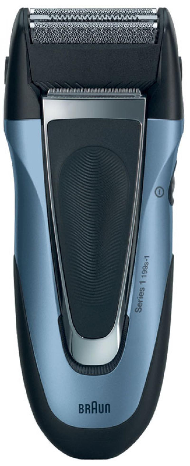 Бритва Braun 199S-1 синий чёрный