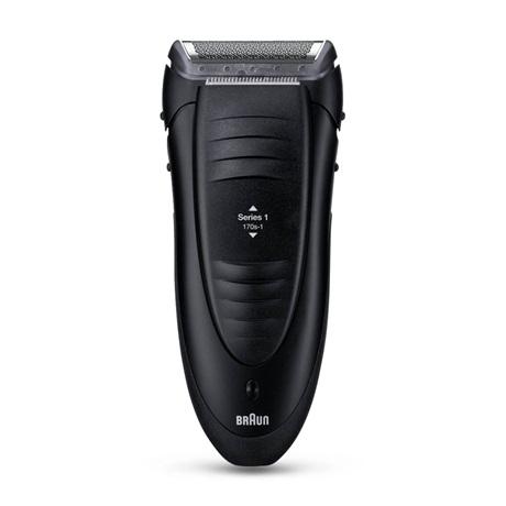 Бритва Braun 170 Series 1,сеточная,сух.бритьё,сеть/аккум.,триммер,черн. недорого