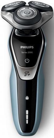 цена на Бритва Philips S5530/06 голубой черный