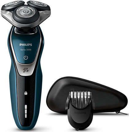 Бритва Philips S5672/41 синий/черный