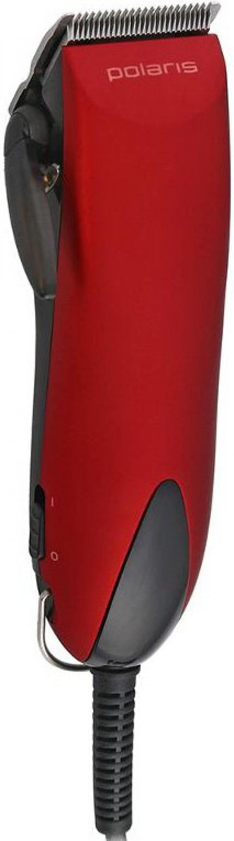 Машинка для стрижки волос Polaris PHC 2501 красный триммер polaris phc 2501 красный