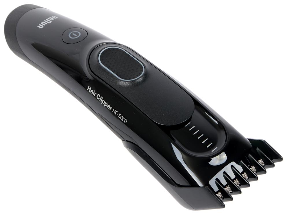 Машинка для стрижки волос Braun HC 5050 чёрный машинка для стрижки волос braun hc 5050