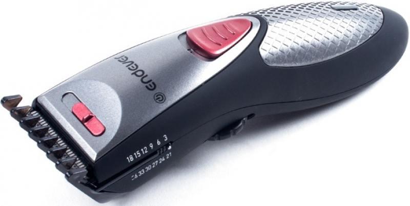 Машинка для стрижки волос ENDEVER Sven 980 чёрный серебристый