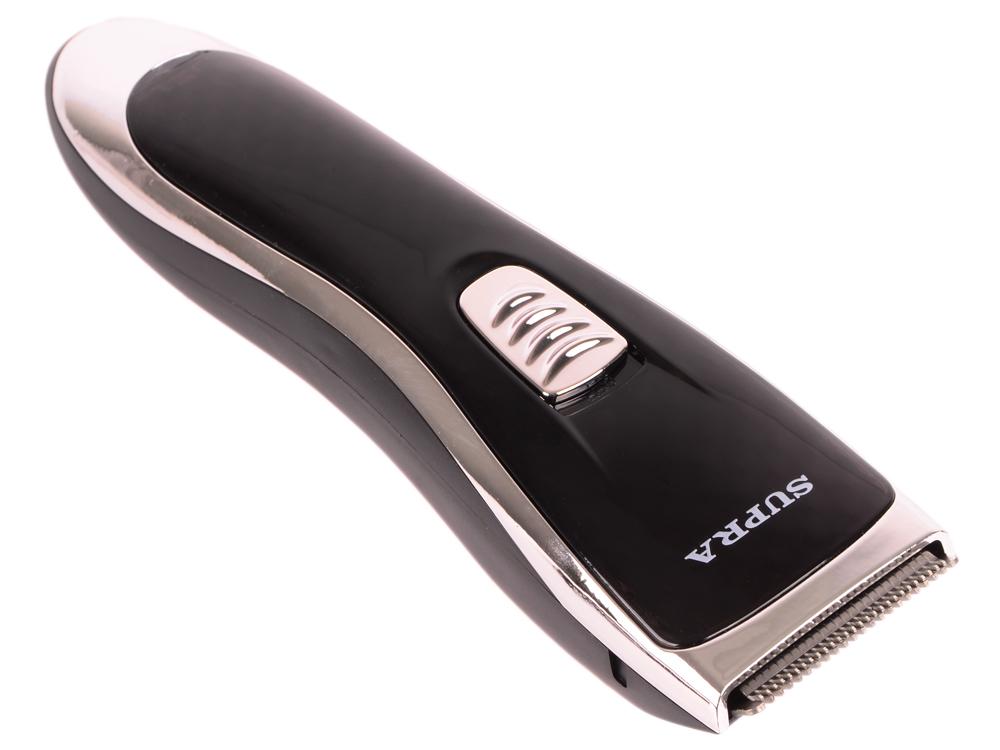 Машинка для стрижки волос Supra HCS-209 черный/серебристый цена 2017