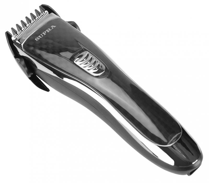 Машинка для стрижки волос Supra HCS-209 черный/серебристый