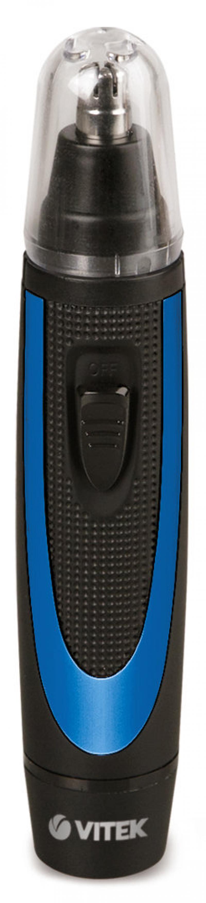 2551(В) Триммер VITEK DC 1.5В Батарея: 1*AA 1.5В (не включена) Лезвия: Подвижные лезвия.