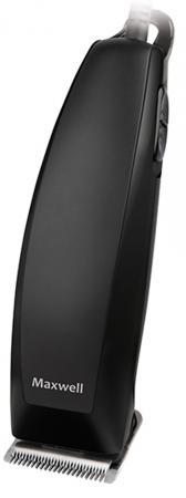 2113-MW(BK) Машинка для стрижки Maxwell Материал лезвия – сталь.настройка длины стрижки 3/6/9/12 мм)