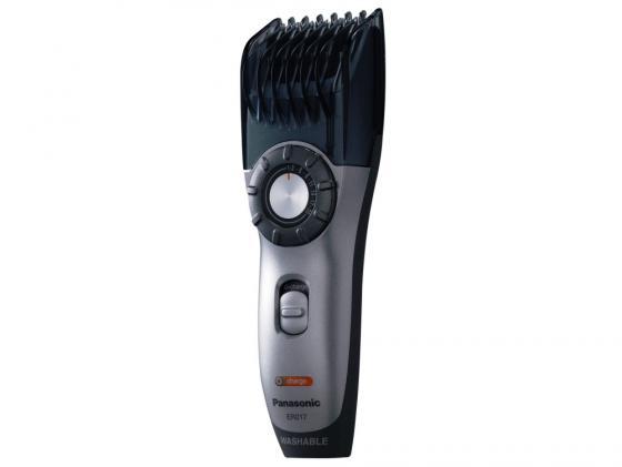 Машинка для стрижки волос Panasonic ER217 серый чёрный