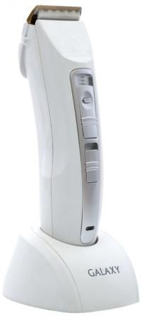 Машинка для стрижки волос GALAXY GL4153 белый серый машинка для стрижки волос galaxy gl4154