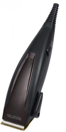 MARTA MT-2217 Машинка для стрижки черный обсидиан