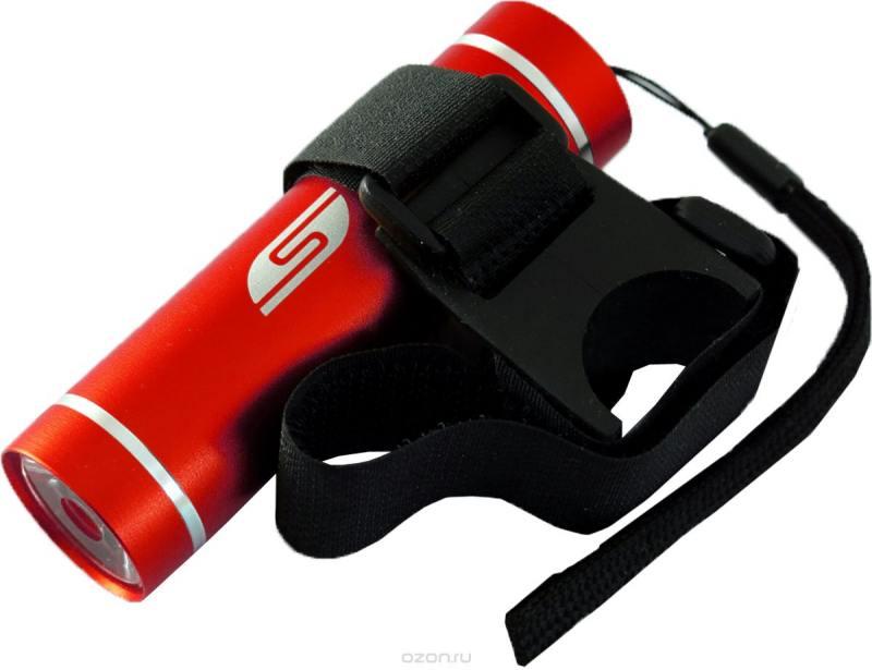 Фонарь Solaris T-5V светодиодный велосипедный красный фонарь велосипедный d light cg 210r габаритный задний цвет красный черный