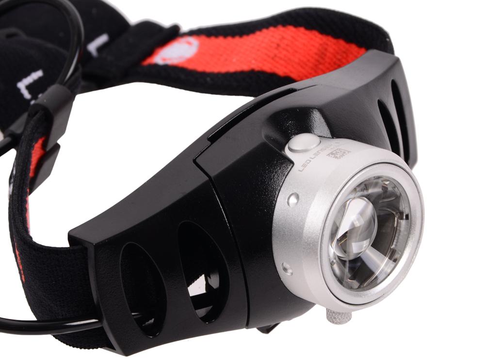 Фонарь Led Lenser H5 7495 светодиодный налобный черный  фонарь led lenser neo 6110 светодиодный налобный синий